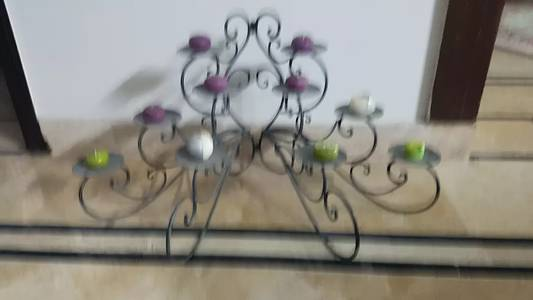 1 iron stand imported candles stand 4