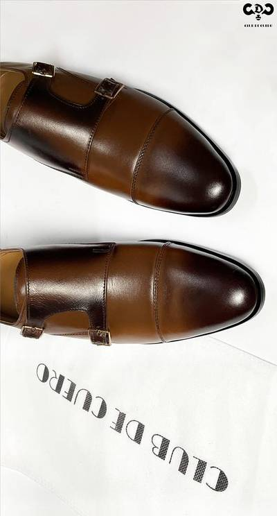 Leather shoes 100% original Mustard brown 2