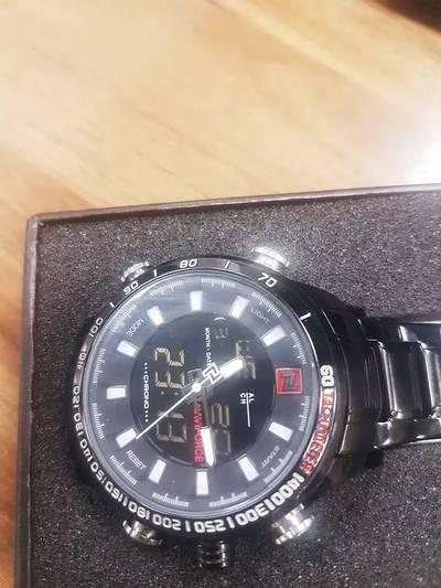 Navy force quartz watch sports watch dual time option watch 0