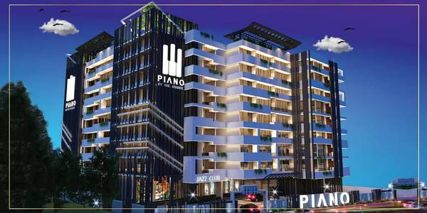 Piano 4 bed loft Flat sale in Bahria town phase 7 instalments 6