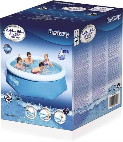 Bestway Round Kids Inflatable Paddling Pool 57266 2