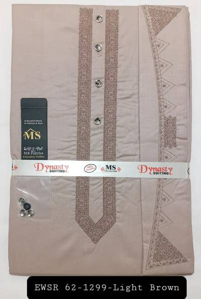 Gents Gala Embroidery Wash n Wear Suits 10