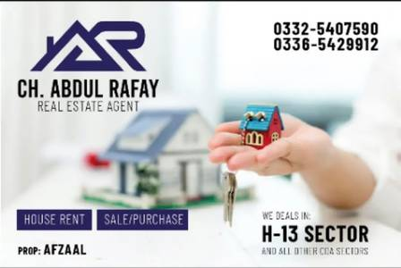6-Marla Ground Portion 2 beds DD For Family sector H-13 Islamabad 0