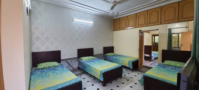 G-11 for working female furnished one bed in room for rent 8