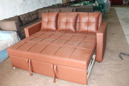 King Size Sofa Cum Bed 3 Step Function Available with Warranty 4