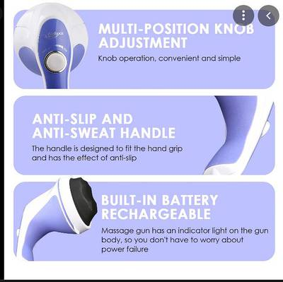 New) Relax Spin Tone Full Body Massager for Relaxing, Toning Slimming 2