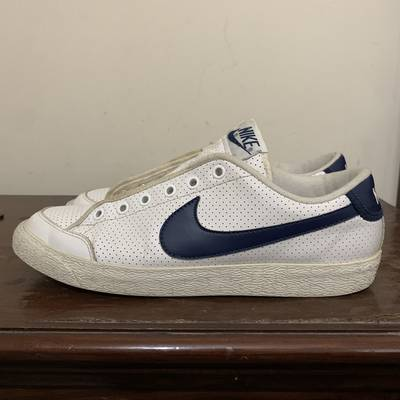 Nike mens court royale white navy sneakers 0