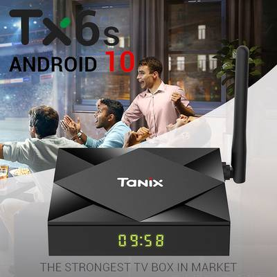 Android TV Box Tanix TX6s  4GB 32GB Android 10  0321-2636468 0