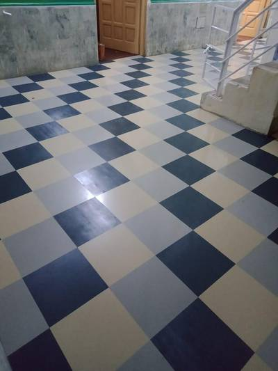 Pvc laminated  vinyl flooring and wooden texture tile's 10