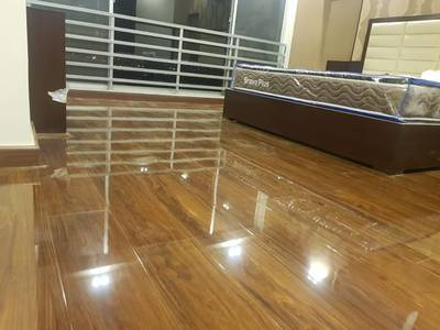 Pvc laminated  vinyl flooring and wooden texture tile's 16
