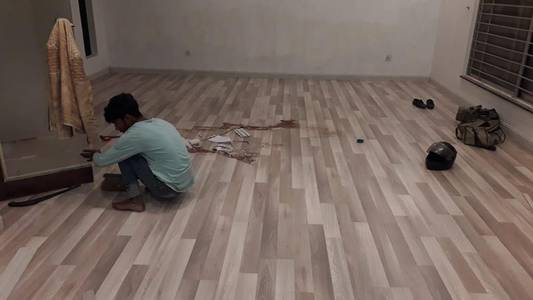 Pvc laminated  vinyl flooring and wooden texture tile's 17
