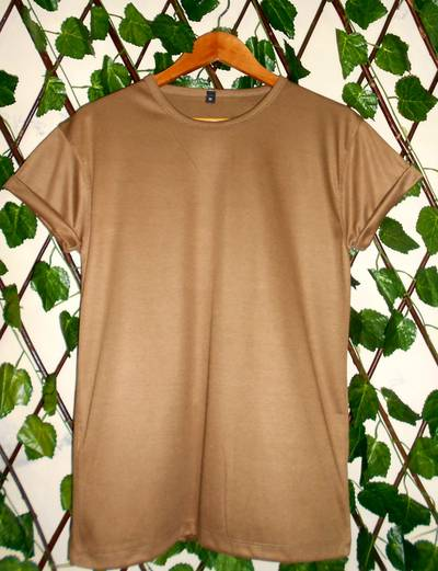 Half Sleeves Plain Round neck Tshirts (Simple tees) for men and Women 2
