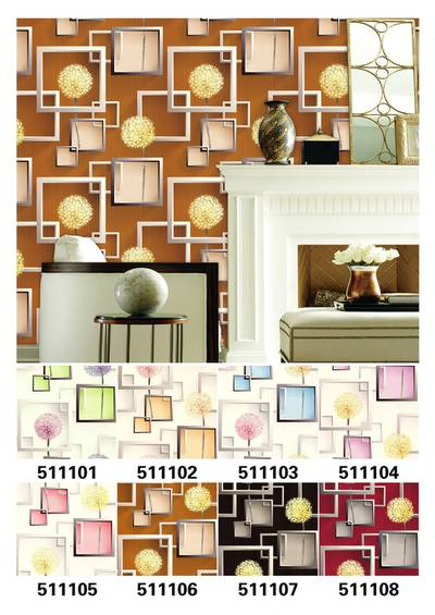 WALLPAPER, WALL COVERING, PAPER FOR WALL, 3