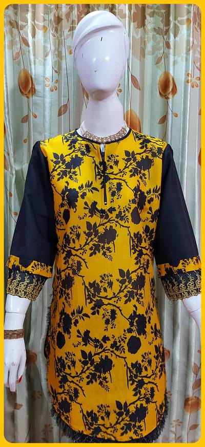 Wholesale Rate kurti and Frock style also air line 6