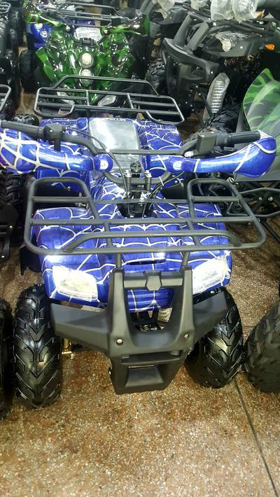 Red color Sports 125 size Quad ATV BIKE for sell at Abdullah shop 2