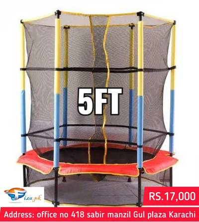 Trampoline all sizes Available , Jumpoline , Swimming pool available 0