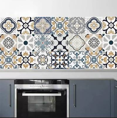 Tile Stickers pack of 12 piecesfor home Decor for Walls Self Adhesive 11