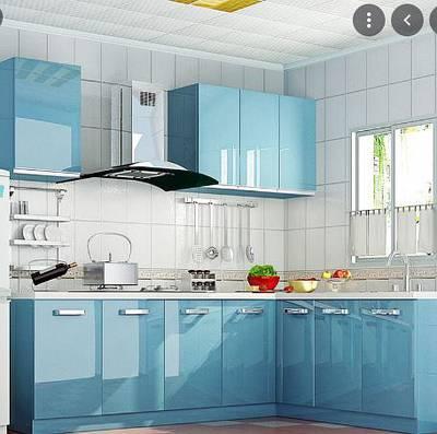 small L shape kitchen ktc-4323_14psqft 0