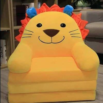 Adorable Character Sofa Seat With Rounded Safety For Your Baby 0