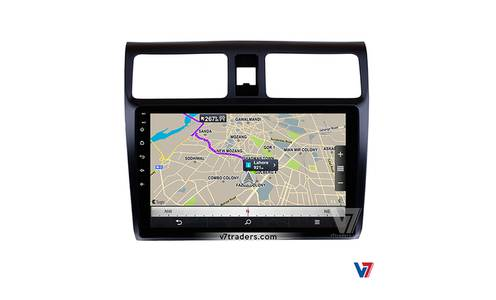 V7 Suzuki Swift Android LCD LED Car Touch Panel GPS Navigation DVD Car 6