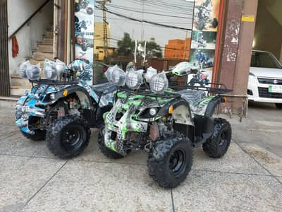 125cc Disabled Person Atv Quad 4 Wheels Online Deliver In All Pakistan 1