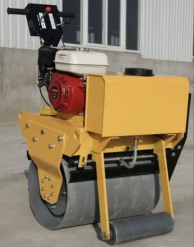 vibratory road roller single drum baby roller 1