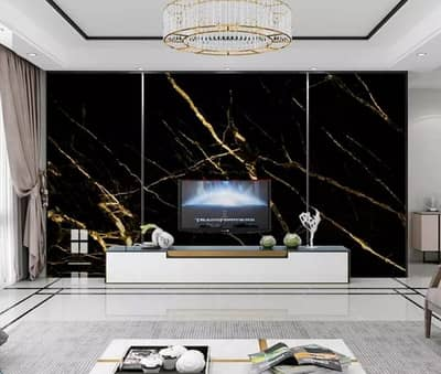 Gym Counter Marble Sheet Kitchen Sticker Home Wall Paper Waterproof 8