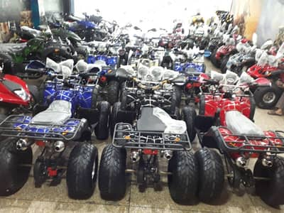 150 cc auto engine 4 gear adult size quad atv bike for sell deliver Pk 4