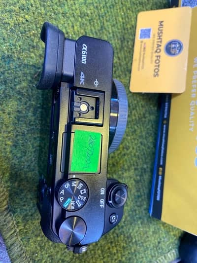 Sony A6100 4k Mirrorless (Mint Condition - Scratchless piece) 3