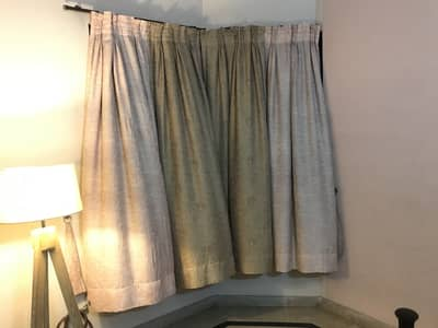 Two pairs of Curtains available (6000 each) 4