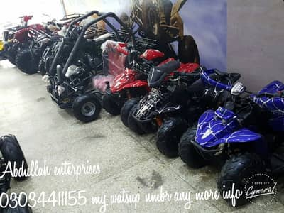 atv quad 4 wheels all size available fresh stock delivery all Pakistan 0