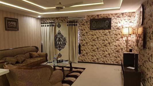 1bed room furnished falt urgent4sale heights1extphase1bahria town rwp 1