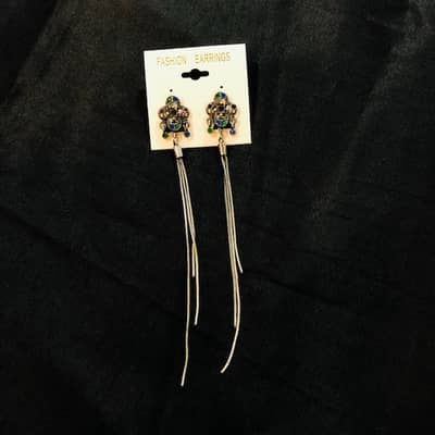 Woman's Long Earrings On Sale Rs: 249/- Only 5