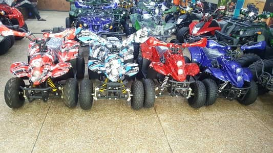 Fuel verity of 50 cc to 249 cc ATV QUAD BIKE available for sell. 13