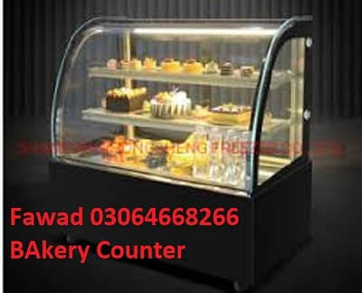 Bakery Counter Heat And Chilled with beautiful design Counter 3
