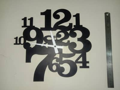Wall decoration combined with wall clock For sale 1