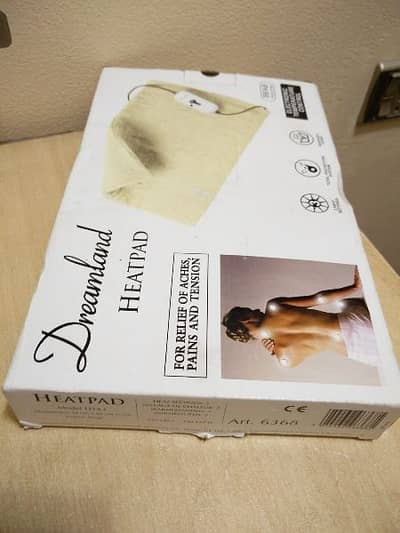 European Heating Pad for Back, Neck and Shoulders Pain Relief. 11