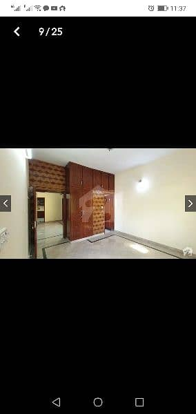 10 Marla corner house first floor portion for rent in  Marghzar Colony 7