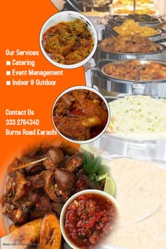 Barat/Valima/Mehandi/PartyAll Events Best Catering Service 0