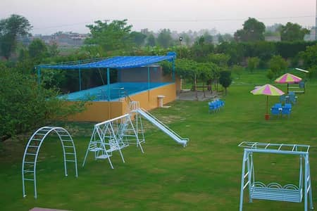 Farm House Available for rent at prime location of gadap town 3