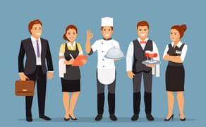 Staff required for Fast food resturent(male & female 0