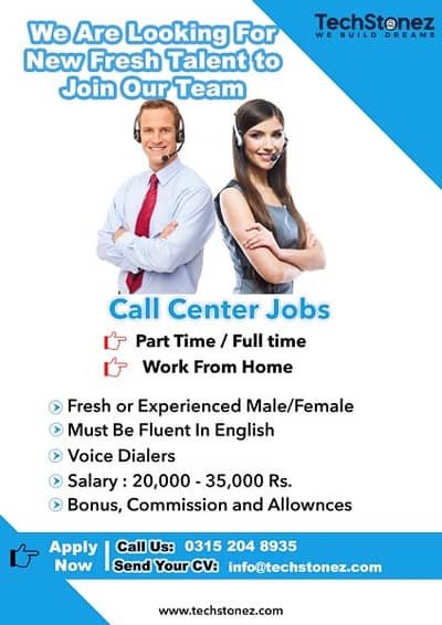 Full time and Part Time Both CSR Jobs ( Home Based) 0