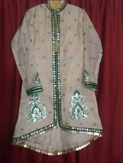 Stylish party wear and Mehndi Tail Gown 0